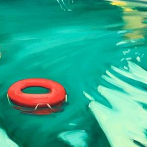 Swimming Pool by Tracey Sylvester Harris