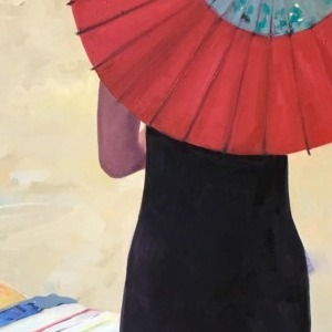 Sun Umbrella by Tracey Sylvester Harris